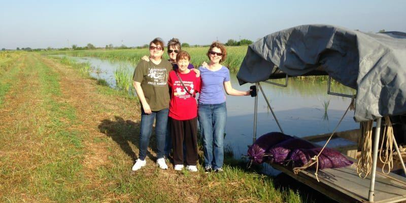 Girls Gone Wild Louisiana Style, Crawfish Haven Bed & Breakfast